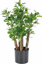 Boden-Kunstpflanze Geldbaum im Topf Tido
