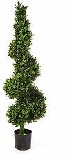 Boden-Kunstpflanze Gewöhnlicher Buchsbaum im Topf