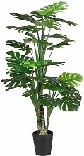 Boden-Kunstpflanze Philodendron im Topf
