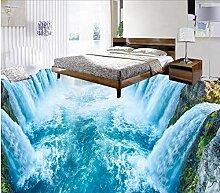 Boden Tapete 3D Für Badezimmer Wasserfall Küche