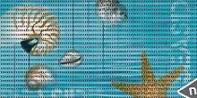 Bodenbelag Floor comfort Weichschaum Matte Seaside Muschel Nautilus 65 breit Meterware