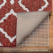 Bodenbelag rutschfester Teppich Federung für harte Böden, extra, starker Halt, dicke Polsterung, acryl, 0.6x2.5 metre