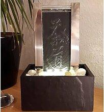 Bodenbrunnen Tee Mulberry aus Stein und Edelstahl
