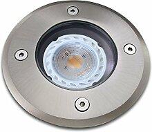 Bodeneinbaustrahler inkl. LED 5W neutralweiß
