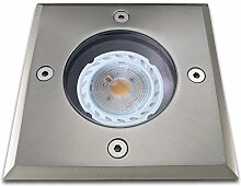 Bodeneinbaustrahler inkl LED 5W warmweiß