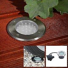Bodeneinbaustrahler LED 2,4W | Einbauleuchte Boden
