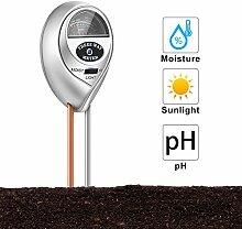 Bodenfeuchtigkeitsmessgerät, 3 in 1