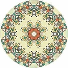 Bodenmatte FANJIANI Runde Form Teppich Wohnzimmer