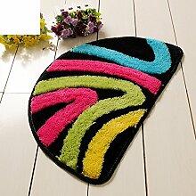 Bodenmatte/Fußabtreter/Foot Pad/Bad-antirutsch-matten/Badezimmer Matte/Semi Samt Fußmatten-G 40x63cm(16x25inch)