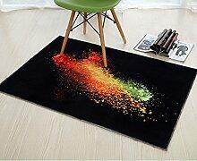 Bodenmatte,Fußabtreter,Tür Matten In Der Halle,Schlafzimmer Küche Bad Strip-pad,Sanitär Saugfähigen Badezimmer Matte-J 60x90cm(24x35inch)