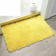 Bodenmatte,Küche Bad WC Tür Wasser Skid Pad,Fußabtreter-D 60x90cm(24x35inch)