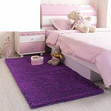 Bodenmatte,Küche Bad WC Tür Wasser Skid Pad,Fußabtreter-J 50x80cm(20x31inch)