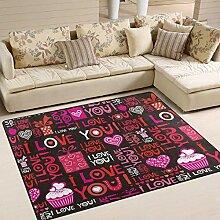 Bodenmatte Moderner Teppich für Innen und Außen