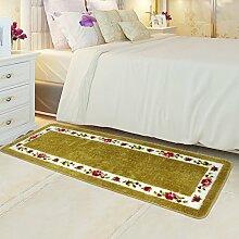 Bodenmatte/Schlafzimmer Voll Fußmatten/Bedside Bar Pad/Moderne Minimalistische Pad/Continental Fußmatten/Anti-rutsch Wasserabsorbierenden Matte-P 50x150cm(20x59inch)