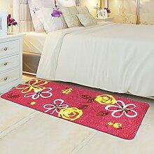 Bodenmatte/Schlafzimmer Voll Fußmatten/Bedside Bar Pad/Moderne Minimalistische Pad/Continental Fußmatten/Anti-rutsch Wasserabsorbierenden Matte-G 80x120cm(31x47inch)
