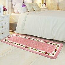 Bodenmatte/Schlafzimmer Voll Fußmatten/Bedside Bar Pad/Moderne Minimalistische Pad/Continental Fußmatten/Anti-rutsch Wasserabsorbierenden Matte-L 80x120cm(31x47inch)