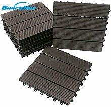 BodenMax® LLWPC108-1-11 WPC Holz Kunststoff