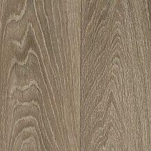 BODENMEISTER BM70511 PVC CV Vinyl Bodenbelag Auslegware Holzoptik, 400 und 500 cm Breit, verschiedene Längen, landhausdiele eiche grau, 7,5 x 5 m