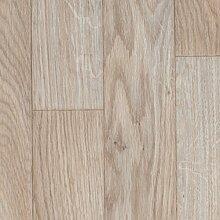 BODENMEISTER BM70555 PVC CV Vinyl Bodenbelag Auslegware Holzoptik Schiffsboden Eiche weiß 200, 300 und 400 cm breit, verschiedene Längen, Variante: 4 x 3 m