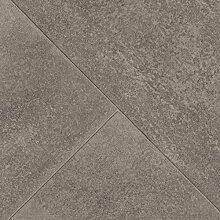 BODENMEISTER BM70556 PVC CV Vinyl Bodenbelag Auslegware Fliesenoptik Steinoptik diagonal grau 200, 300 und 400 cm breit, verschiedene Längen, Variante: 3,5 x 3 m