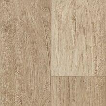 BODENMEISTER BM70568 PVC CV Vinyl Bodenbelag Auslegware Holzoptik Landhausdiele Eiche weiß 200, 300 und 400 cm breit, verschiedene Längen, Variante: 2,5 x 2 m