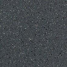 BODENMEISTER BM70569 PVC CV Vinyl Bodenbelag Auslegware Fliesen-/Steinoptik, chip blau, 9 x 4 m