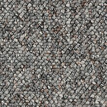 BODENMEISTER BM72181 Teppichboden Auslegware Meterware Schlinge 200, 300, 400 und 500 cm Breit, verschiedene Längen, Variante:, Grau, 3 x 3 M