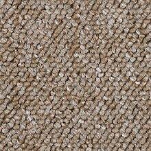 BODENMEISTER BM72392 Teppichboden Auslegware Meterware Schlinge 400 und 500 cm Breit, verschiedene Längen, Variante:, Beige, 6 x 4 M