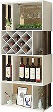Bodenmontage Weinschrank 4 Schichten Home