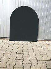 Bodenplatte Stahl schwarz für Kaminofen/Holzofen