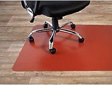Bodenschutzmatte Floordirekt Pro Hartböden Rot