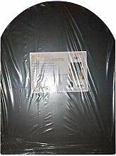 Bodenschutzplatte, Funkenschutzplatte für Holz- und Pelletöfen, Größe: 60x 80 cm