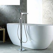 bodenstehende Badewanne Mixer/Einzylinder-Dual-Control-Armatur/Dusche Badewanne Dusche Mischer-A