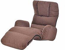 Bodenstuhl Lazy Sofa Single Couch Faltbare