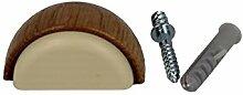 Bodentürstopper Türstopper Stopper Holz zum Schrauben oder kleben by MS Beschläge® (Eiche)