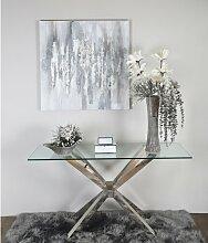 Bodenvase Malone Rosdorf Park Farbe: Grau/Silber