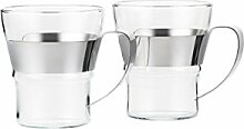 Bodum 4552-16 ASSAM 2-teiliges Kaffeeglas-Set