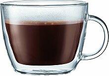Bodum Bistro Café Latte Becher doppelwandig