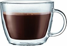 Bodum Bistro Café Latte Tasse, doppelwandig, 0,45