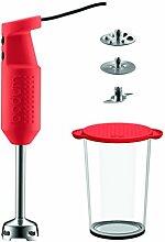 Bodum Bistro Elektrischer Mixer mit Zubehör (2 Scheiben, 1 Messer, 1 Rührschüsse liters) ro