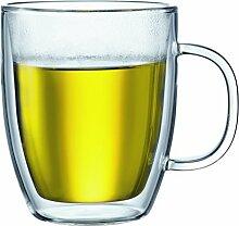 Bodum Bistro Jumbo-Tasse, doppelwandig, 0,45 l,