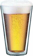 BODUM CANTEEN: 2 Stück Glas, doppelwandig, 0.4 l,
