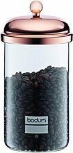 Bodum Classic 1 L Tee-/Kaffeeglas, Glas, Rich