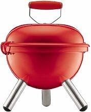Bodum Fyrkat Mini Picknick Holzkohle-Grill–Ro