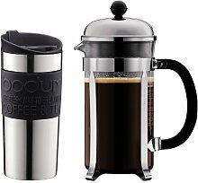 Bodum K11068-01 Set aus Chambord Kaffeebereiter 8