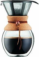 Bodum Pour Over Kaffeebereiter mit Permanentfilter