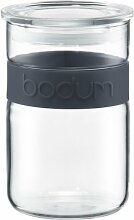 Bodum Presso Vorratsglas 0, 6 L Schwarz