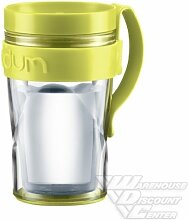 Bodum Travel Mug mit extra Haltebügel, 0.25 l