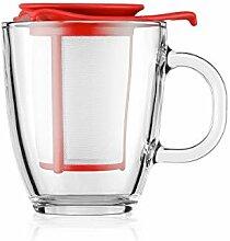 Bodum YO-YO Glastasse mit Kunststofffilter (0,35