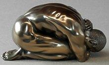 Body Talk Skulptur Akt - Mann, kauernd - #71751